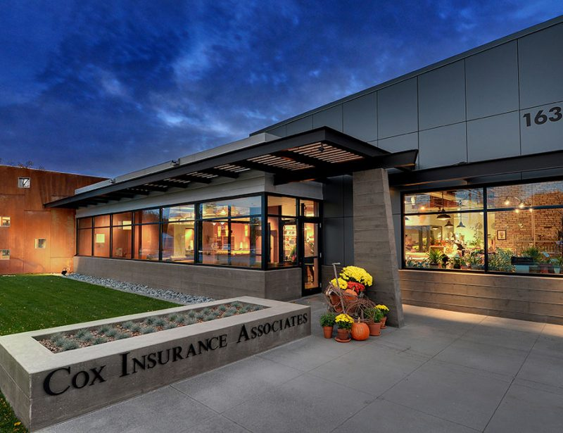Office Architecture and Interiors for Cox Insurance