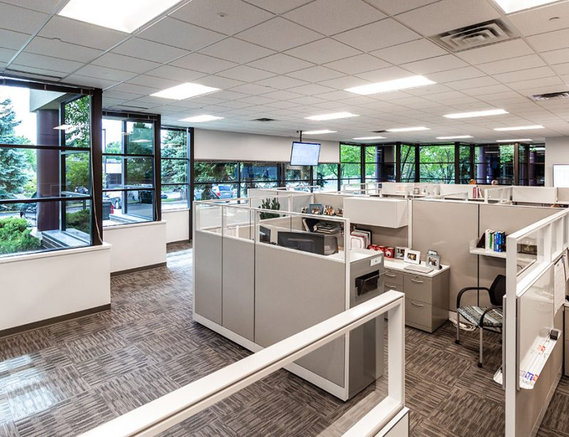 Office interior architecture for Master Technology Group